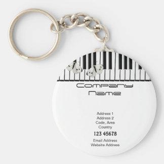 Music Business Theme Keychain