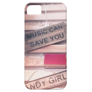 MUSIC CAN SAVE YOU iPhone 5/5s Case