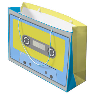 MUSIC CASSETTE TAPE Large Gift Bag