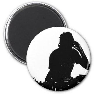 Music celebrations 6 cm round magnet