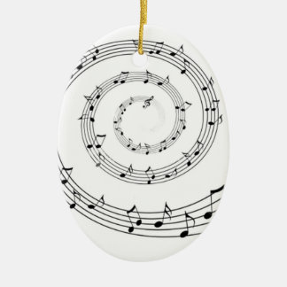 Music Ceramic Ornament