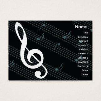 Music - Chubby Business Card