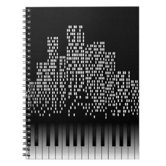 Music City Spiral Notebook
