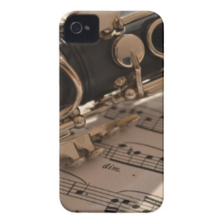 Music Clarinets Musical Notes Destiny Dance Fun Case-Mate iPhone 4 Case