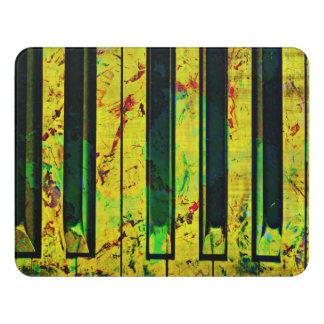 Music Clef Piano Door Sign