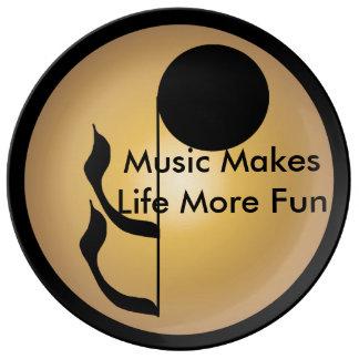 Music Collectors Plates Musical Musicians Porcelain Plates