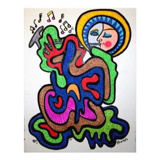 Music Color by Piliero 21.5 Cm X 28 Cm Flyer