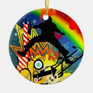 Music colorful illustration ornaments