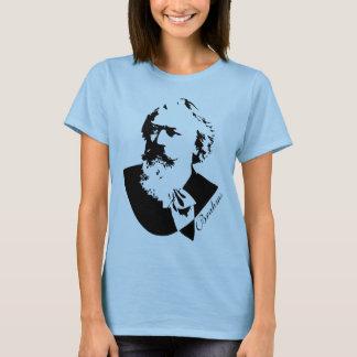 Music Composer Johannes Brahms Ladies Tee