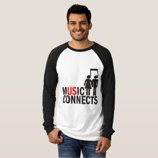 """""""Music Connects"""" T-Shirt"""