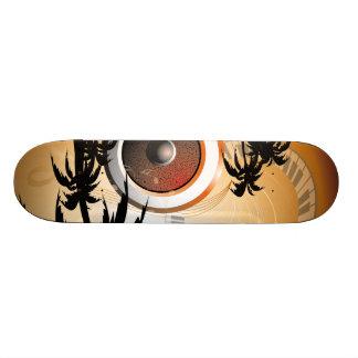 music custom skateboard
