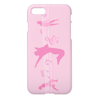 Music Dance and Drama pink iPhone 7 Case