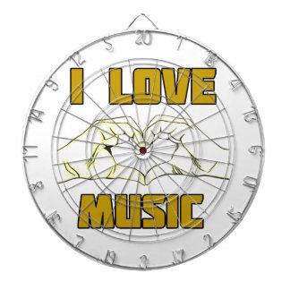 music design dartboard