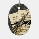 Music Design Personalised Ornament