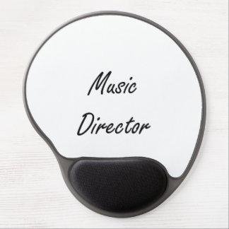 Music Director Artistic Job Design Gel Mouse Pad