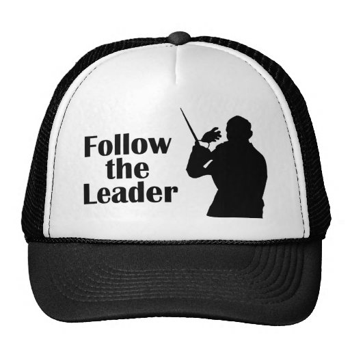 Music Director Follow The Leader Mesh Hat
