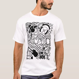 Music Drawing by tween kolohe Kristin T-Shirt