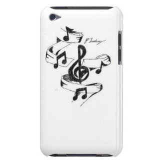 Music Drawn iPod Touch Case