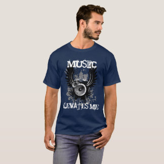 Music Elevates Me T-Shirt