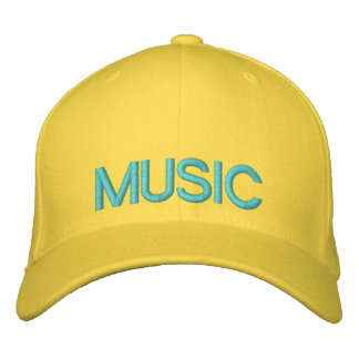 MUSIC EMBROIDERED HAT