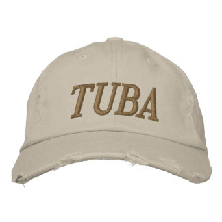 Music Embroidered Tuba Cap Embroidered Baseball Caps