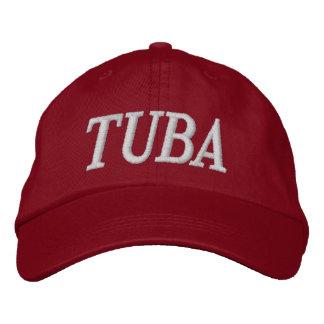 Music Embroidery Tuba Cap
