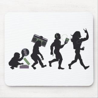 Music Evolution Mousepad
