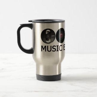 Music evolution coffee mugs