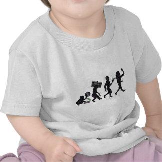 Music Evolution T-shirts