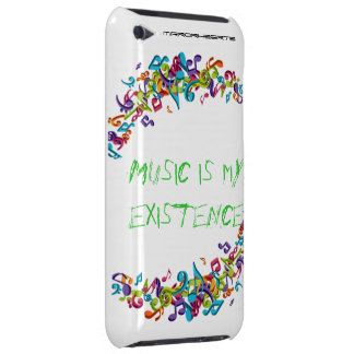 Music Existence Barely There iPod Covers