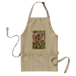 Music Faerie Playing Music Standard Apron