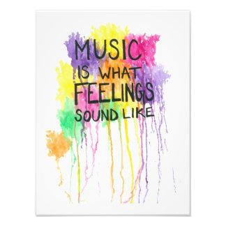 Music & Feelings Art Photo