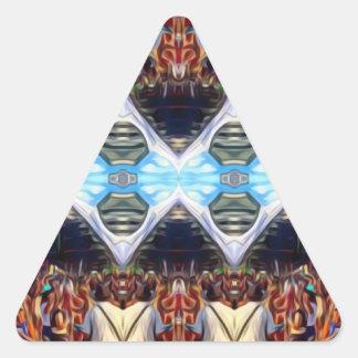 Music Festival Triangle Sticker