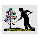 Music Flow Gardener Poster