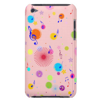 Music (flowers & dots 1) iPod Case-Mate case