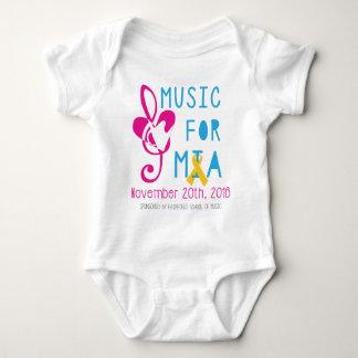 Music for Mia Baby Bodysuit