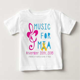 Music for Mia Baby T-Shirt