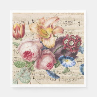 Music for the Soul Paper Napkins