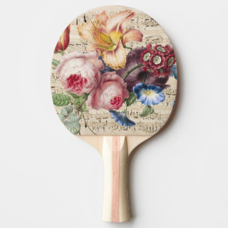 Music for the Soul Ping Pong Paddle