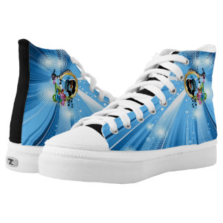 Music for the Soul Printed Shoes