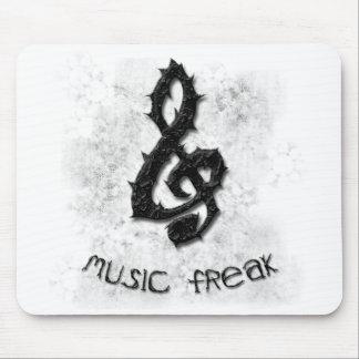 Music Freak Mouse Pad