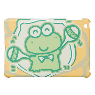 Music Frog with Maracas Gold  iPad Mini Case