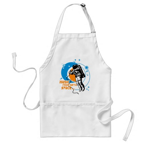 Music from outta Space Aprons