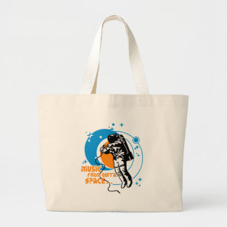 Music from outta Space Canvas Bags