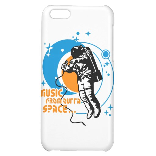 Music from outta Space Case For iPhone 5C