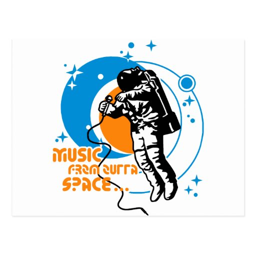 Music from outta Space Postcards