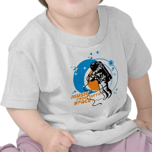 Music from outta Space T-shirts