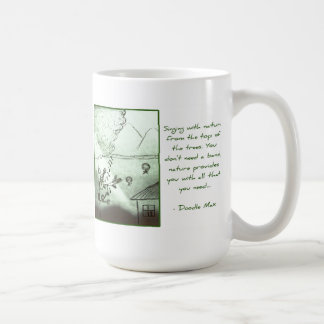 Music from the Treetops [by Doodle Max] Coffee Mug