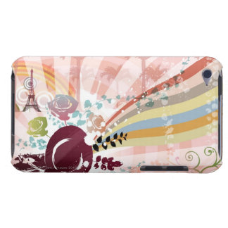 Music from Vintage Gramophone iPod Touch Case-Mate Case