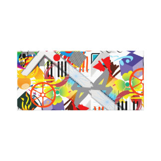 Music Fun Art Gallery Wrapped Canvas